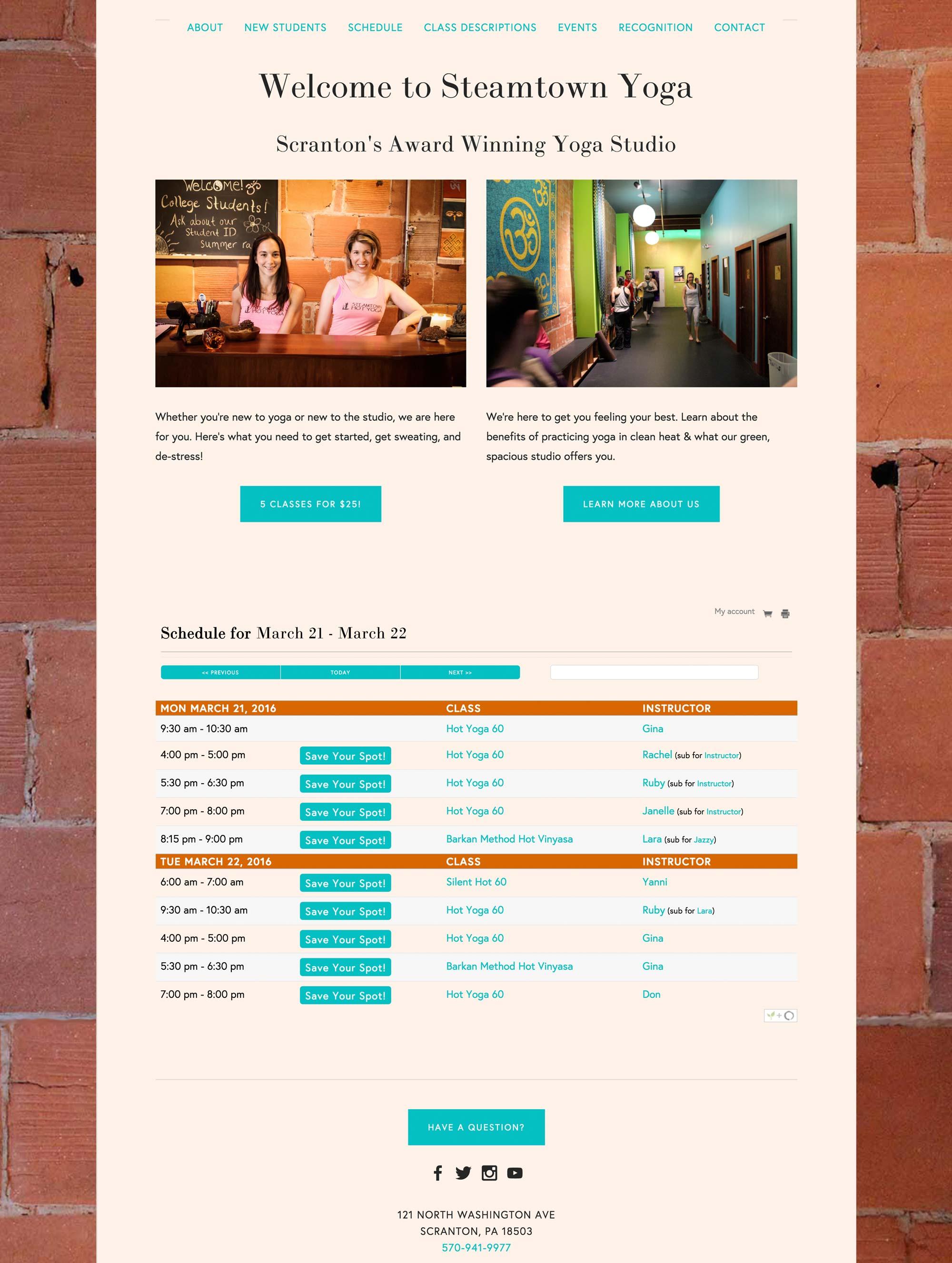 Scranton, PA's Oldest, Most Succesful Yoga Studio