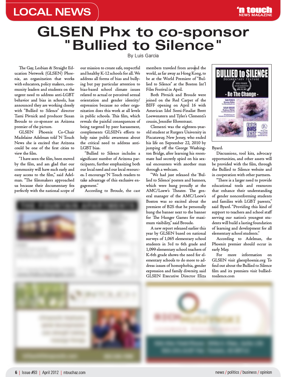 Bullying magazine