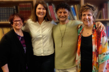 U.S. Congresswoman Ann Kirkpatrick with Bullied to Silence Director, Tami Pivnick and Producer, Susan Broude