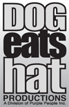 Dog Eats Hat Productions logo